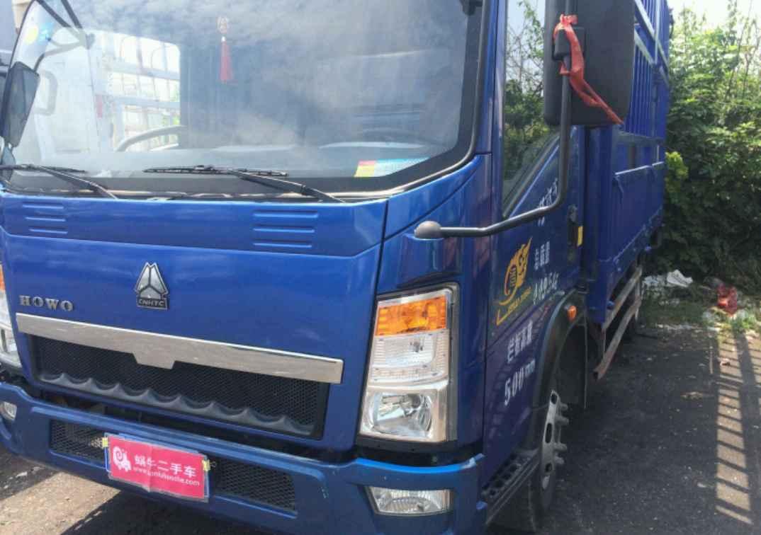 中国重汽HOWO 载货车  120匹 2015年10月 4x2