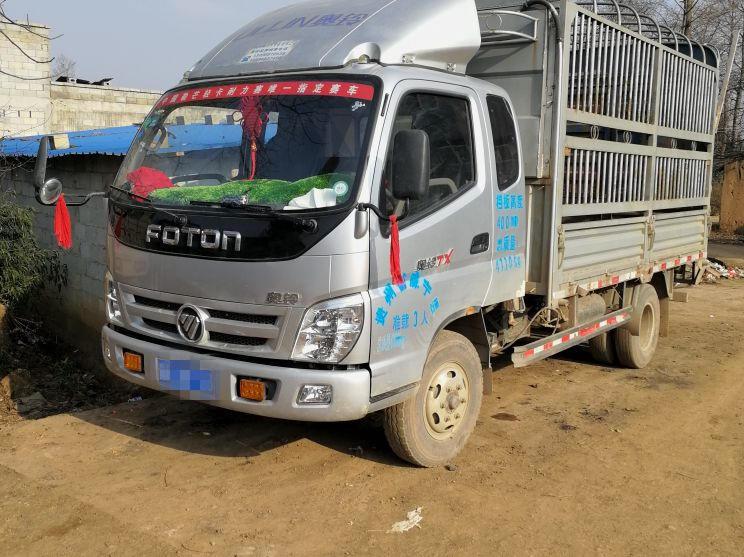 福田欧曼其他车系 载货车  113匹 2015年08月 4x2