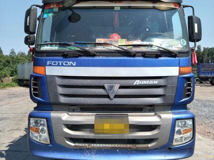 福田欧曼ETX 载货车  290匹 2011年07月 8x4