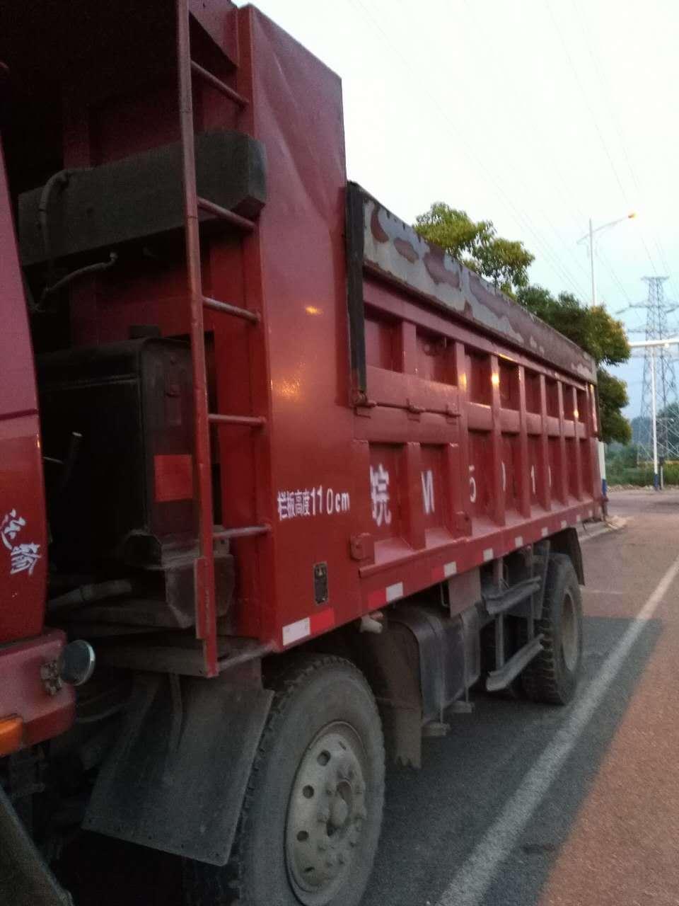 陕汽华山 自卸车  164匹 2012年10月 6x2
