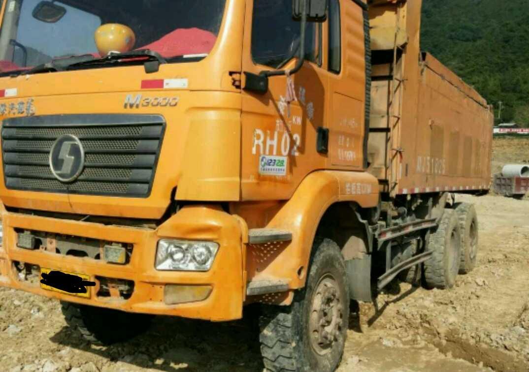 陕汽德龙M3000 自卸车  310匹 2013年10月 6x4