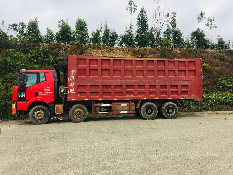 一汽解放J6 自卸车  375匹 2011年06月 8x4