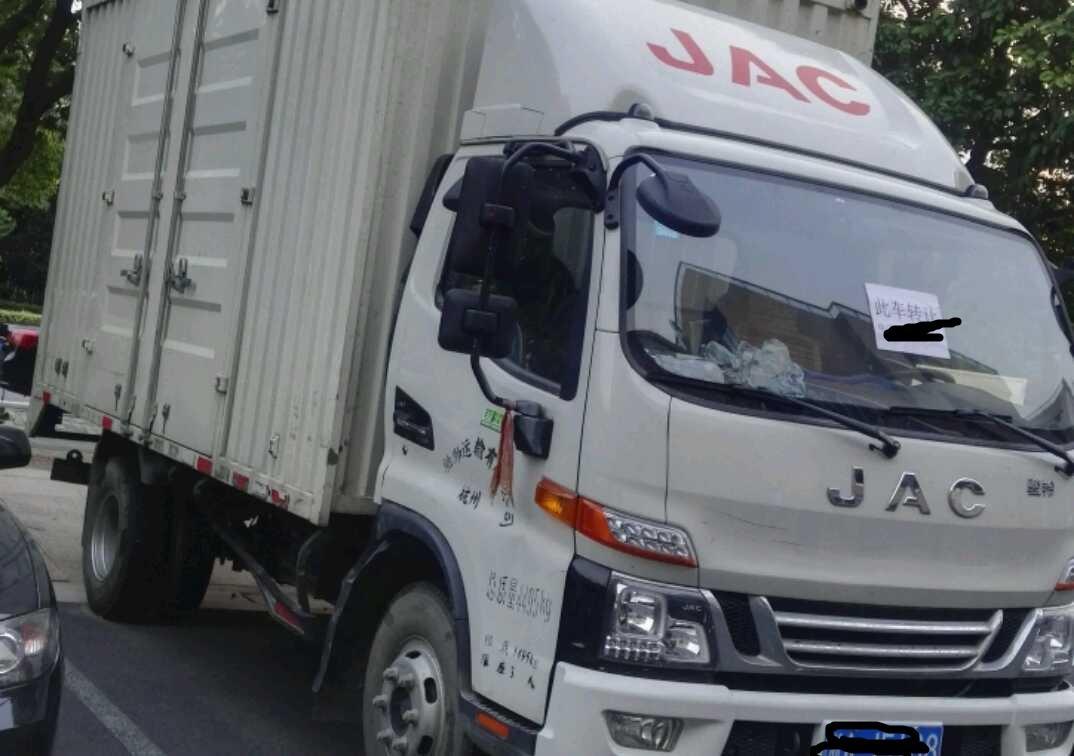 江淮 载货车  100匹 2017年07月 4x2