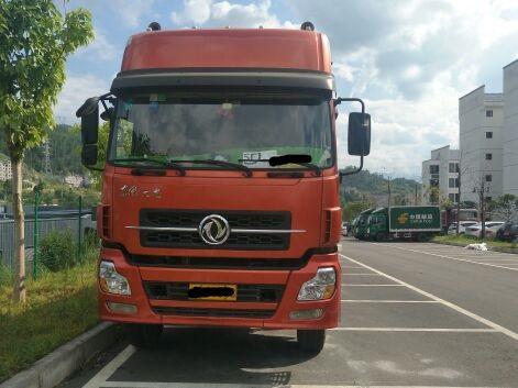 东风天龙 载货车  290匹 2013年11月 8x4