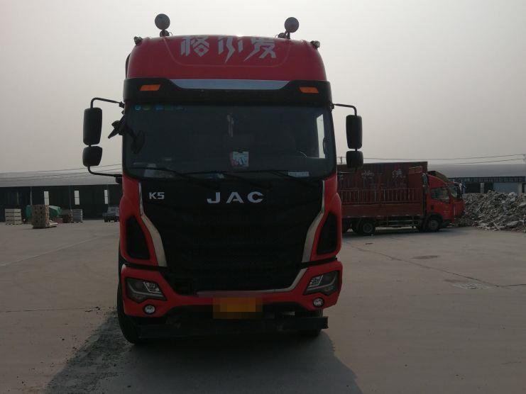 江淮格尔发 载货车  245匹 2017年04月 6x2