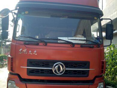 东风天龙 载货车  210匹 2013年05月 6x2