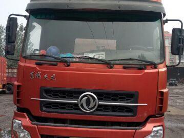 东风天龙 牵引车  375匹 2011年05月 6x4