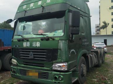 中国重汽HOWO 牵引车  375匹 2008年06月 6x4