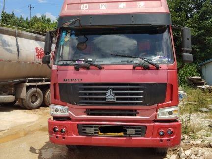 中国重汽HOWO 散装物料车  375匹 2010年07月 8x4