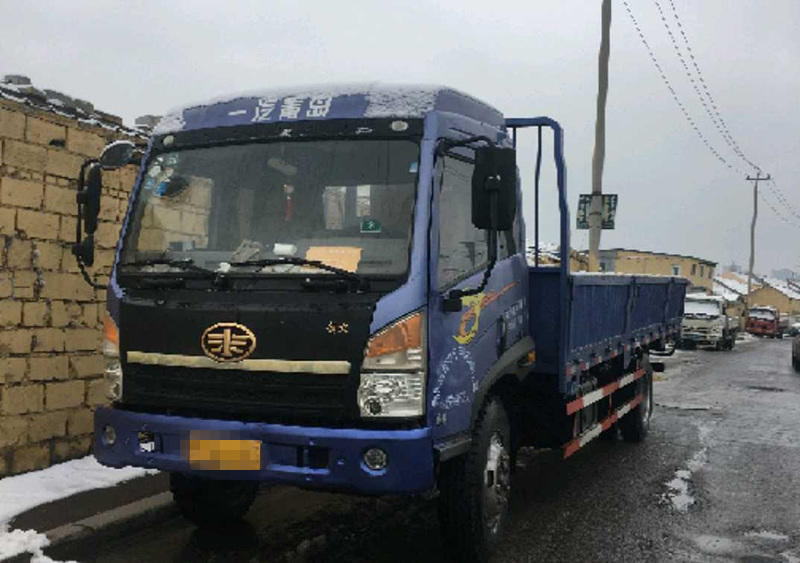青岛解放其他车系 自卸车  160匹 2013年03月 4x2