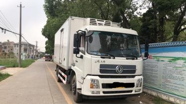 东风天锦 冷藏车  180匹 2017年05月 4x2