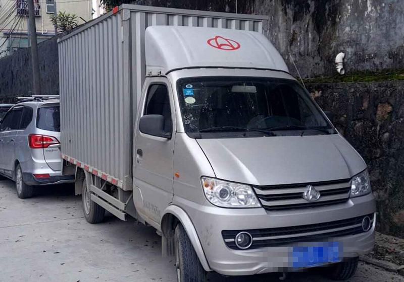 长安新豹 载货车  120匹 2018年04月 4x2