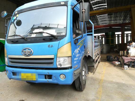 青岛解放其他车系 载货车  140匹 2011年06月 4x2