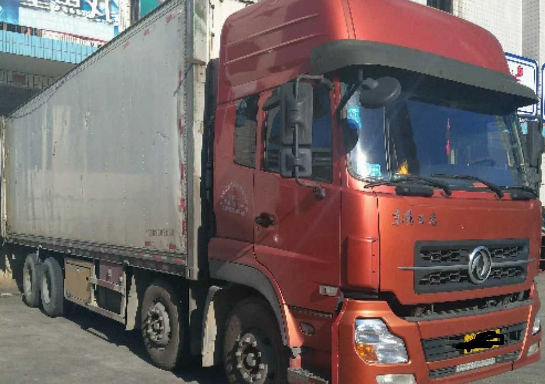东风天龙 冷藏车  300匹 2011年01月 8x4