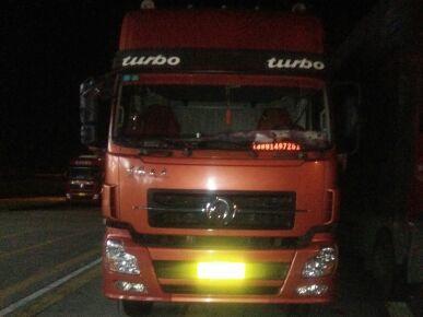 东风天龙 载货车  290匹 2013年12月 8x4