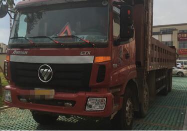 福田欧曼ETX 自卸车  380匹 2014年12月 8x4