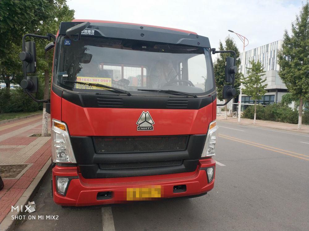 中国重汽HOWO 载货车  210匹 2018年08月 4x2