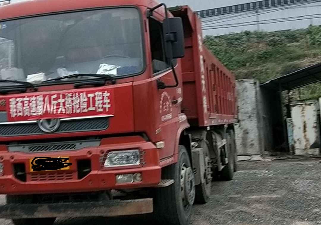 东风天锦 自卸车  280匹 2014年08月 8x4