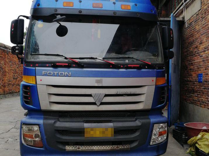 福田欧曼其他车系 载货车  290匹 2011年04月 8x4