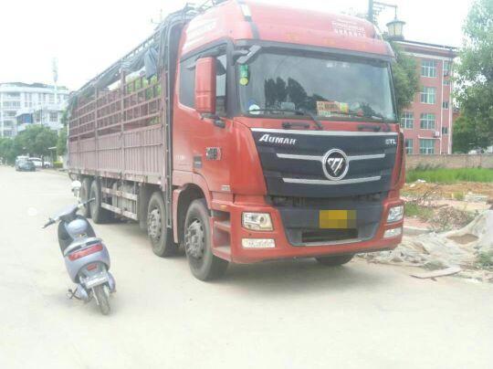 福田欧曼GTL 载货车  350匹 2016年05月 8x4