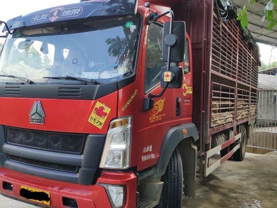 中国重汽HOWO 载货车  210匹 2018年01月 4x2