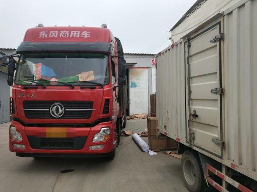 东风天龙 载货车  350匹 2018年05月 8x4
