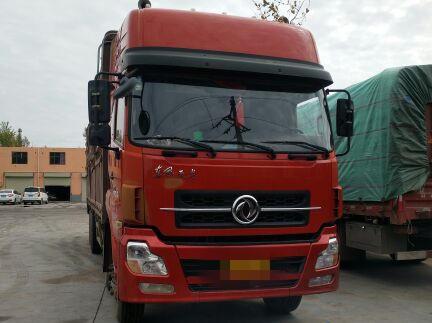东风天龙 载货车  290匹 2014年02月 8x4