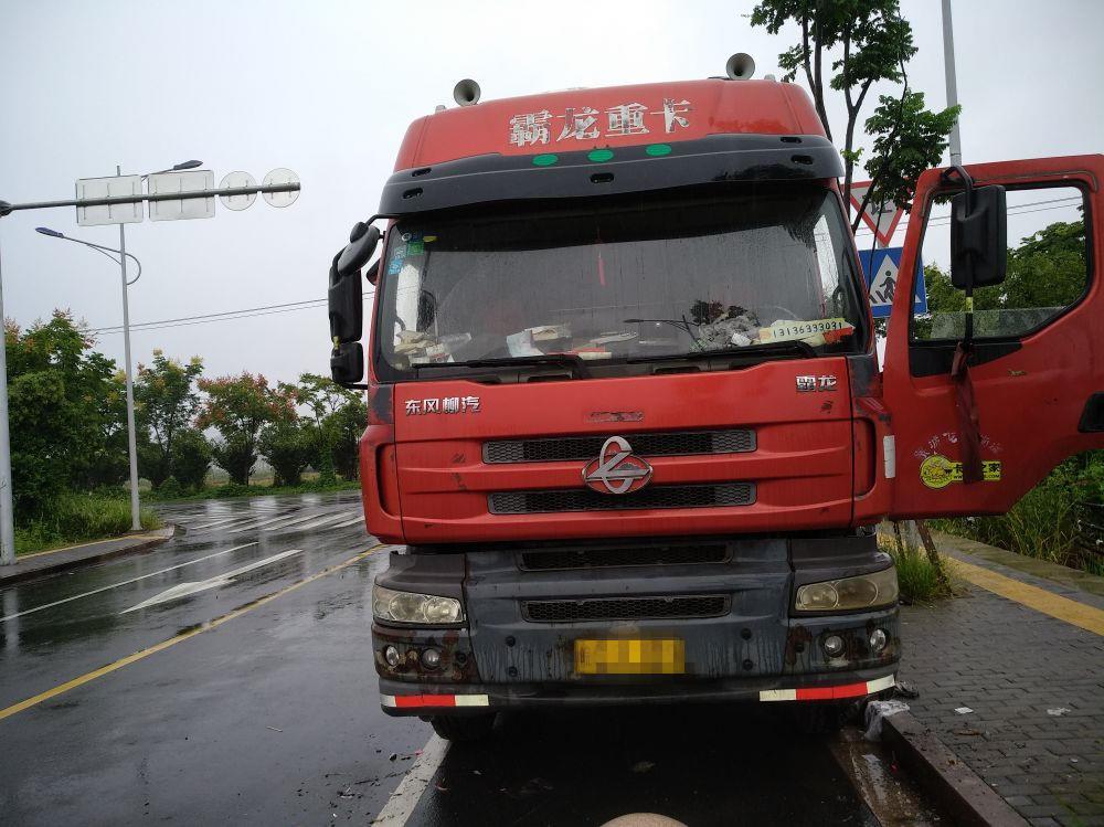 东风霸龙 载货车  290匹 2014年03月 8x4