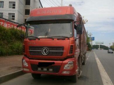 东风天龙 载货车  375匹 2014年03月 8x4