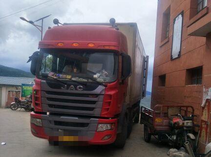 江淮格尔发 载货车  200匹 2014年06月 6x2