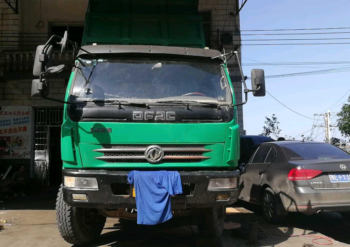 东风东风特商 自卸车  160匹 2011年12月 4x2