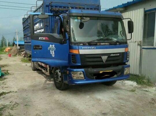 福田欧曼ETX 载货车  140匹 2012年04月 4x2