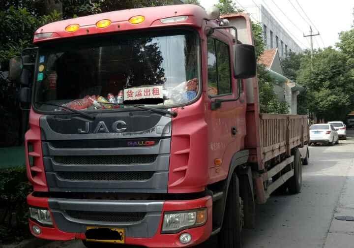 江淮格尔发 载货车  160匹 2013年07月 4x2