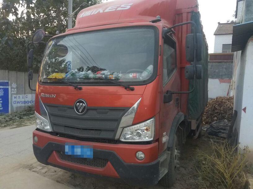 福田欧曼其他车系 载货车  160匹 2018年07月 4x2