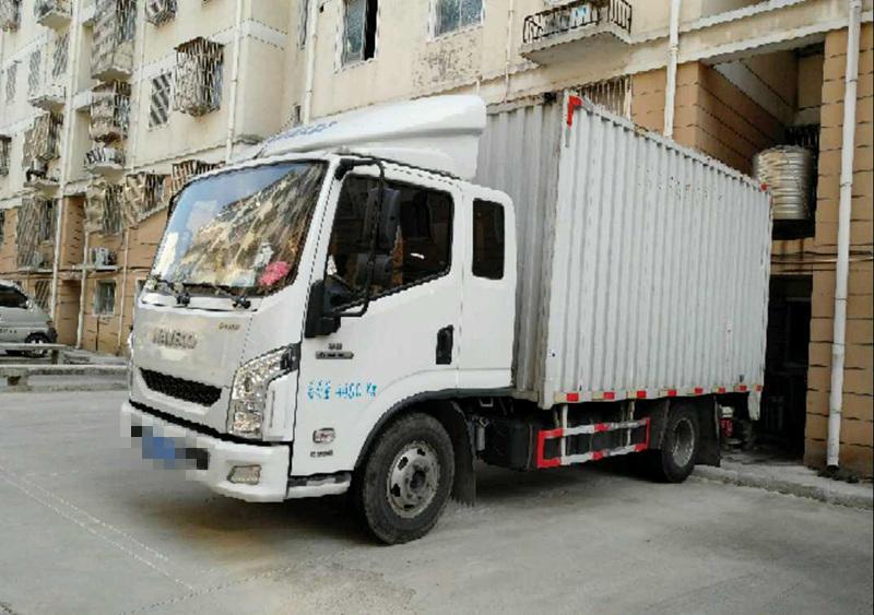 南京依维柯跃进 载货车  120匹 2016年08月 4x2