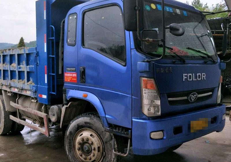 中国重汽豪曼 自卸车  140匹 2014年07月 4x2