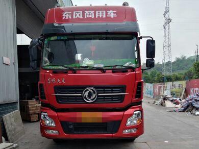 东风天龙 牵引车  385匹 2016年06月 6x2
