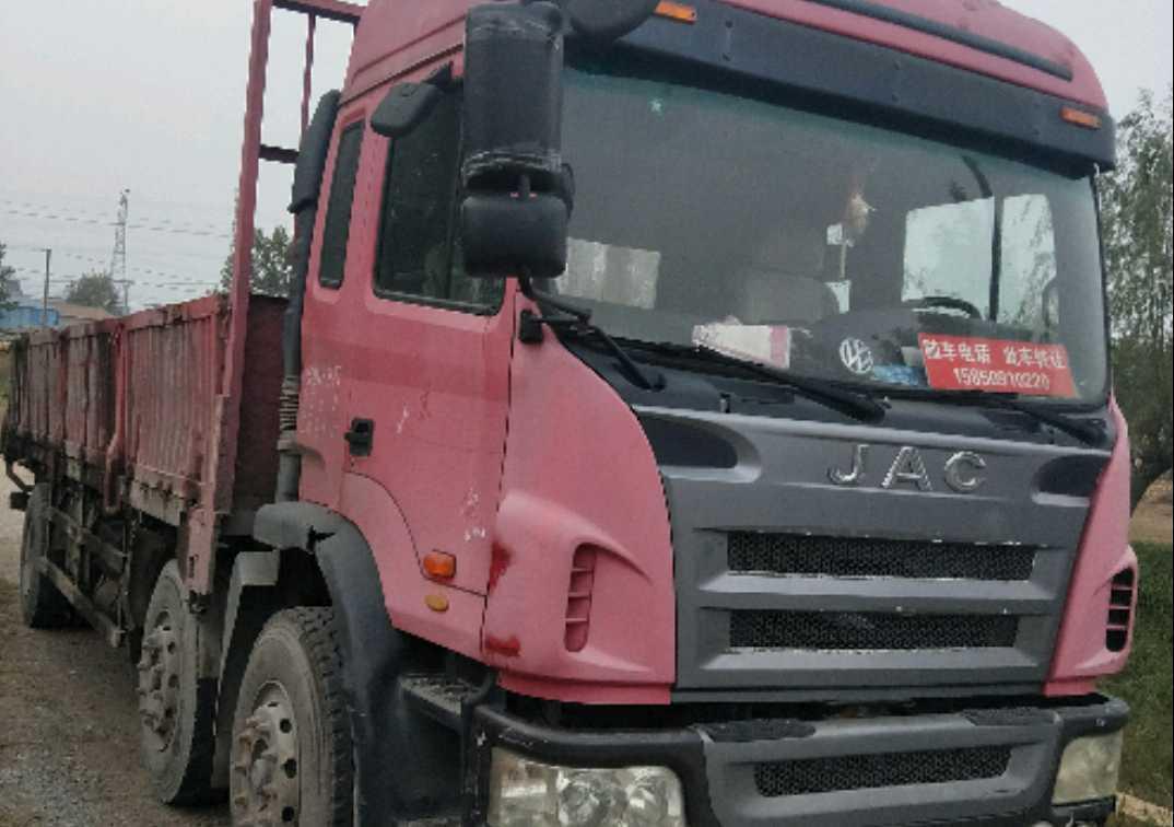 江淮格尔发K6L中卡 载货车  190匹 2011年03月 6x2