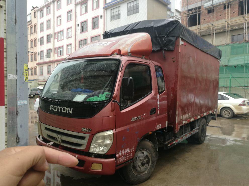 福田欧曼其他车系 载货车  105匹 2012年07月 4x2
