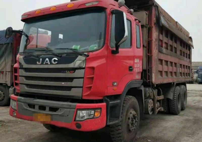 江淮格尔发格尔发K3X重卡 自卸车  280匹 2013年06月 6x4