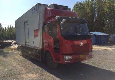 一汽解放J6 冷藏车  160匹 2015年04月 4x2