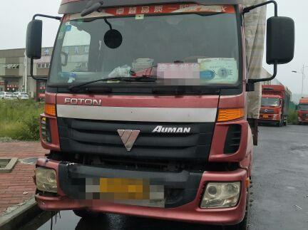 福田欧曼ETX 载货车  220匹 2012年10月 6x2