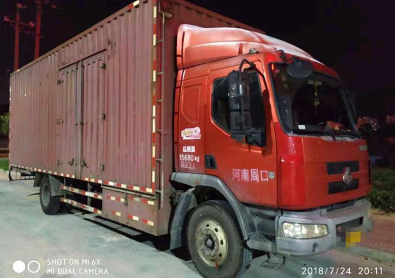 东风乘龙 载货车  160匹 2012年12月 4x2