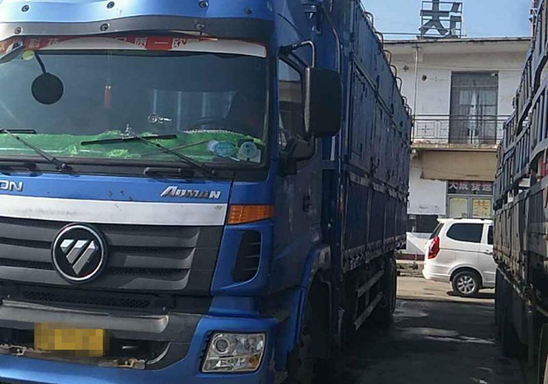 福田欧曼ETX 载货车  270匹 2013年01月 8x4