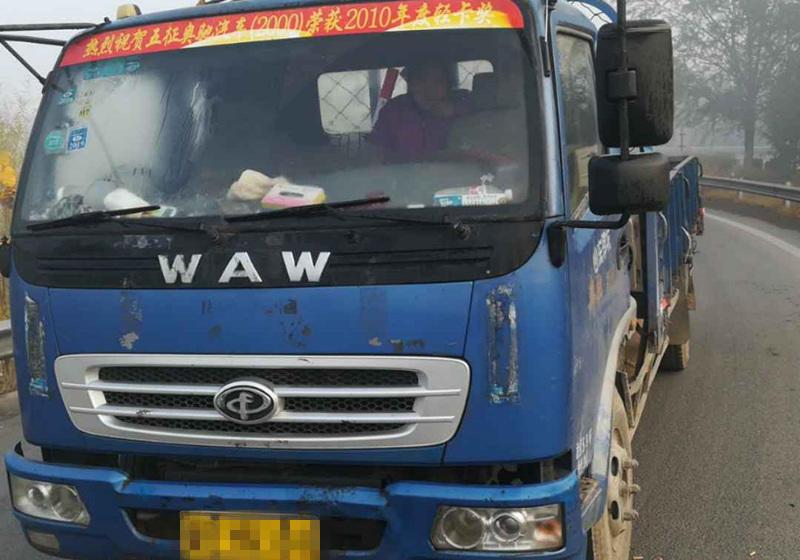 #其他品牌 载货车  137匹 2012年09月 4x2