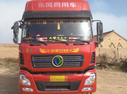 东风天龙 载货车  350匹 2018年09月 8x4