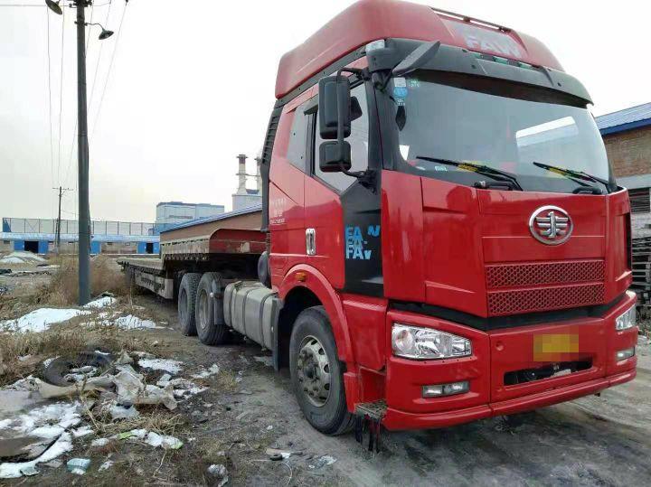 一汽解放J6 牵引车  350匹 2010年11月 6x4