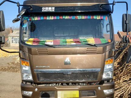 中国重汽HOWO 载货车  170匹 2018年07月 4x2