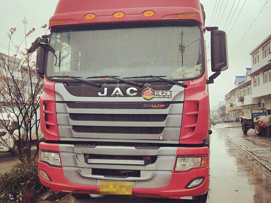 江淮格尔发 载货车  336匹 2015年12月 8x4