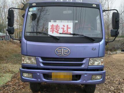 青岛解放悍V 载货车  180匹 2012年02月 6x2